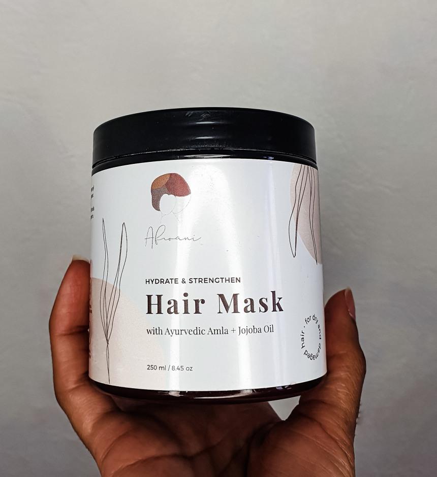 masque hydratant de la marque capillaire AFROANI