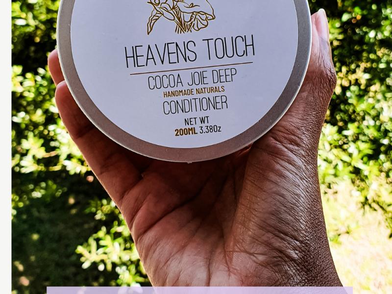 le masque profond COCOA JOIE DEEP CONDITIONER de heavens touch naturals